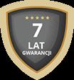 7 lat gwarancji
